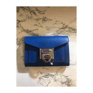 Michael Kors Mini Blue Wallet